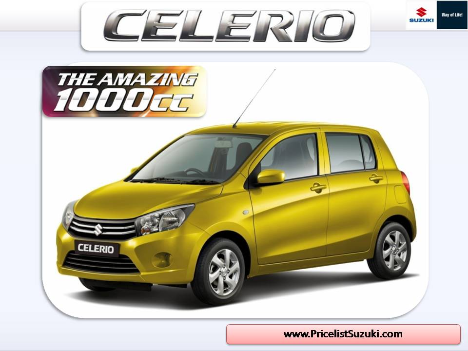 Suzuki Celerio The Amazing 1000CC