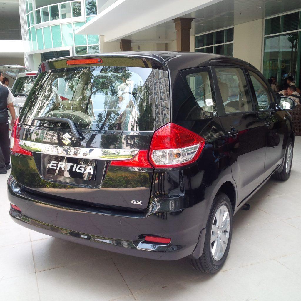 Foto belakang Suzuki New ERTIGA 2015