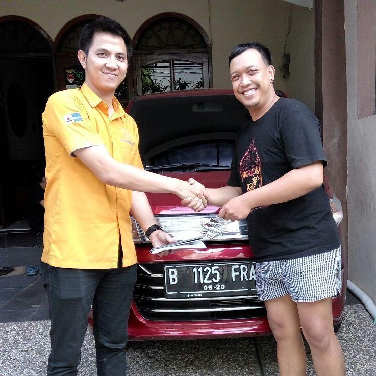 Terima Kasih Pak Erick untuk pembelian Suzuki Karimun Wagon R AGS nya