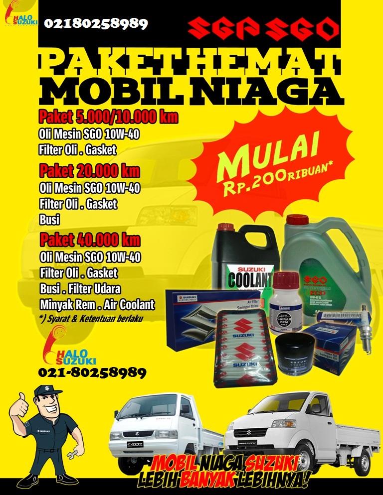 pricelistsuzukiniaga - Paket Hemat Servis Mobil Niaga Suzuki