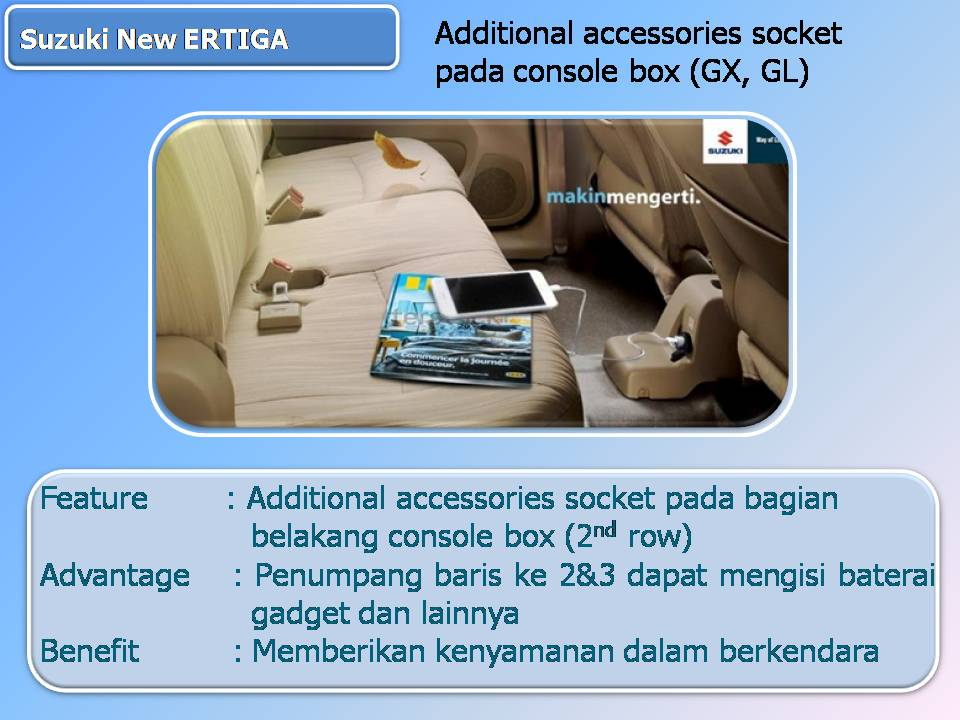 Selling Points New Ertiga cash an