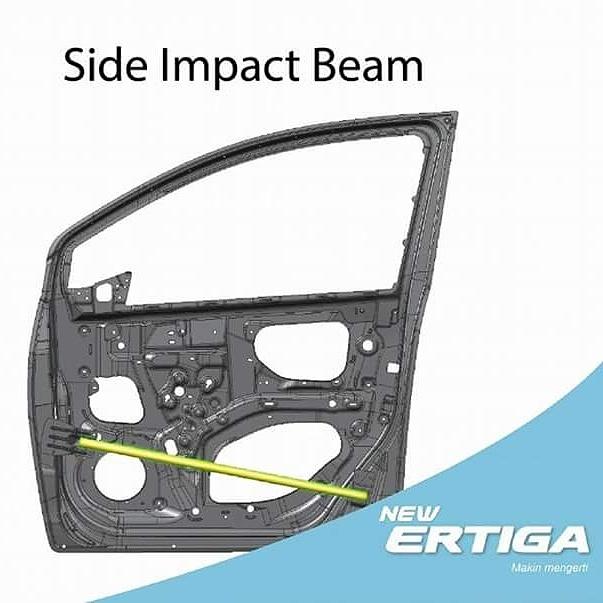 side impact beam Suzuki Ertiga