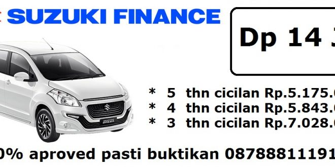 Suzuki finance ertiga dreza manual pasti aproved 660x330 - Harga kredit Suzuki Promo