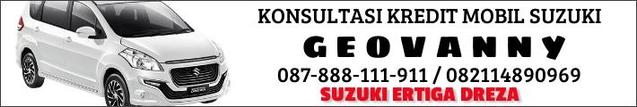 Geovanny sales mobil Suzuki