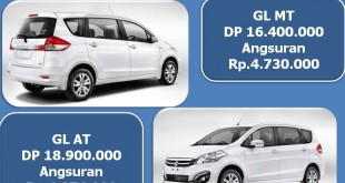promo dp riingan gans 310x165 - Paket Kredit Cicilan Suzuki New ERTIGA