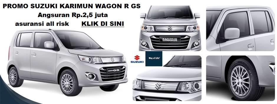 wagon gs mt ANSURAN 25 JUTA - kredit murah Suzuki Karimun Wagon R GS