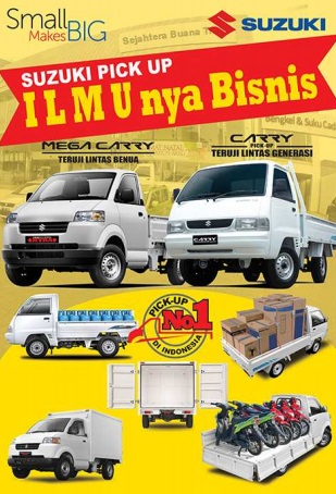 banner pick up - Suzuki Pick Up - Harga Suzuki Pick Up -