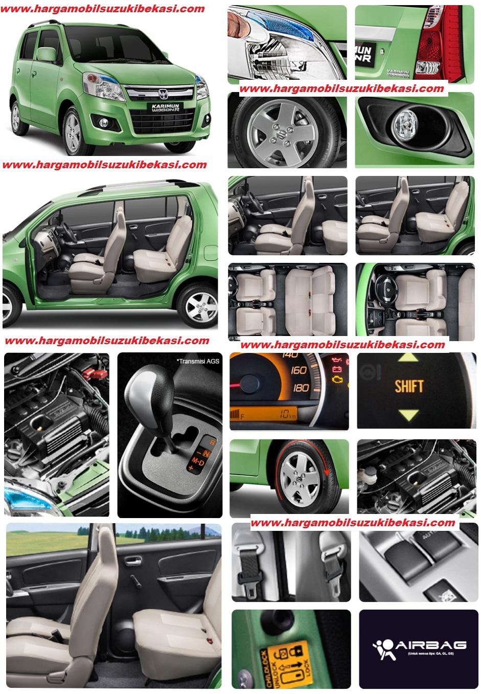 interior exterior safety Suzuki Bekasi Karimun Wagon R - Paket Kredit DP Ringan Karimun Wagon R AGS