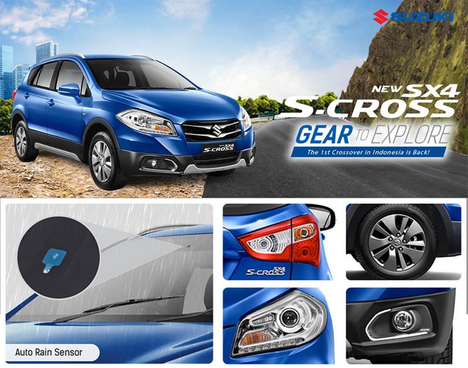 Harga spekfikasi Suzuki Scross