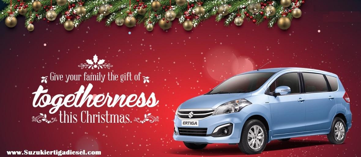 Suzuki Ertiga Diesel merry christmas - Ertiga Diesel Jakarta pusat