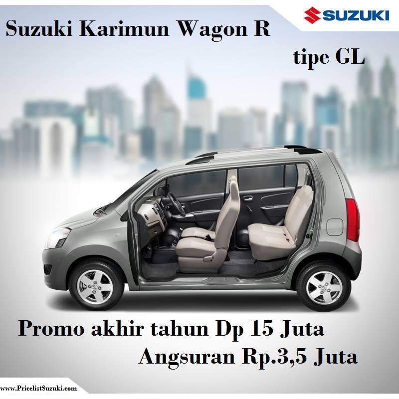 Suzuki karimun Wagon R GL Dp 15 juta - Harga kredit Suzuki Promo