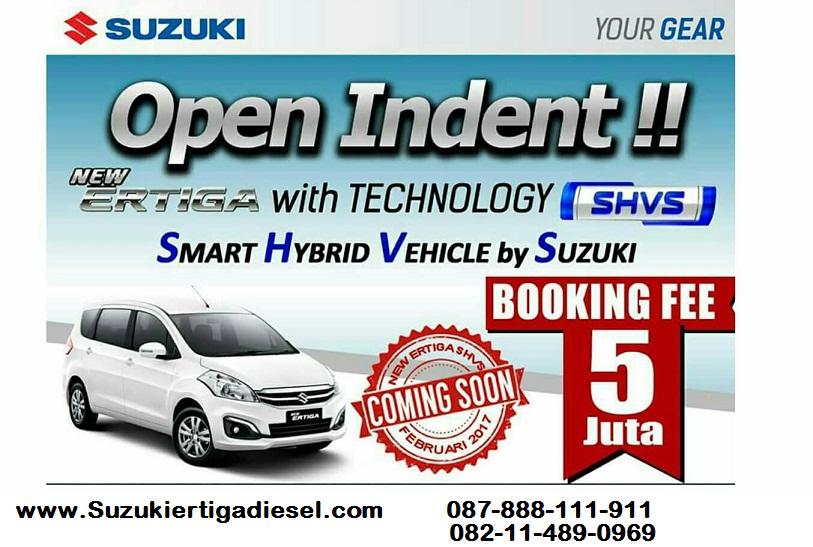 open indent Suzuki Ertiga Diesel - di buka pemesanan awal Suzuki Ertiga Diesel