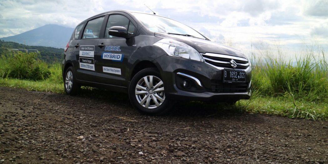 ertiga diesel hybrid 1050x525 - Mobil Suzuki New Ertiga Diesel ready stock