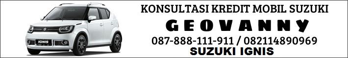 Sales marketing Suzuki IGNIS Jakarta bekasi tangerang depok - Hubungi Marketing Suzuki