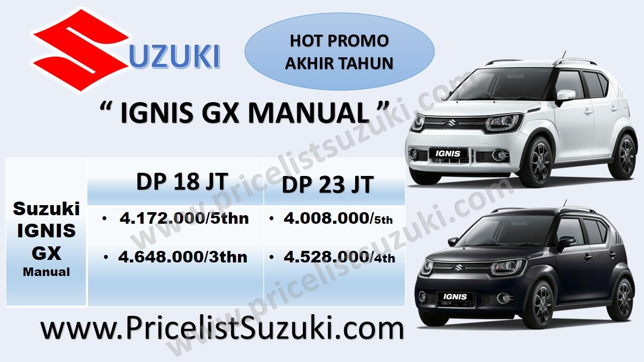 promo suzuki ignis gx manual dp ringan  - Kredit mobil Suzuki IGNIS sampai 5 tahun