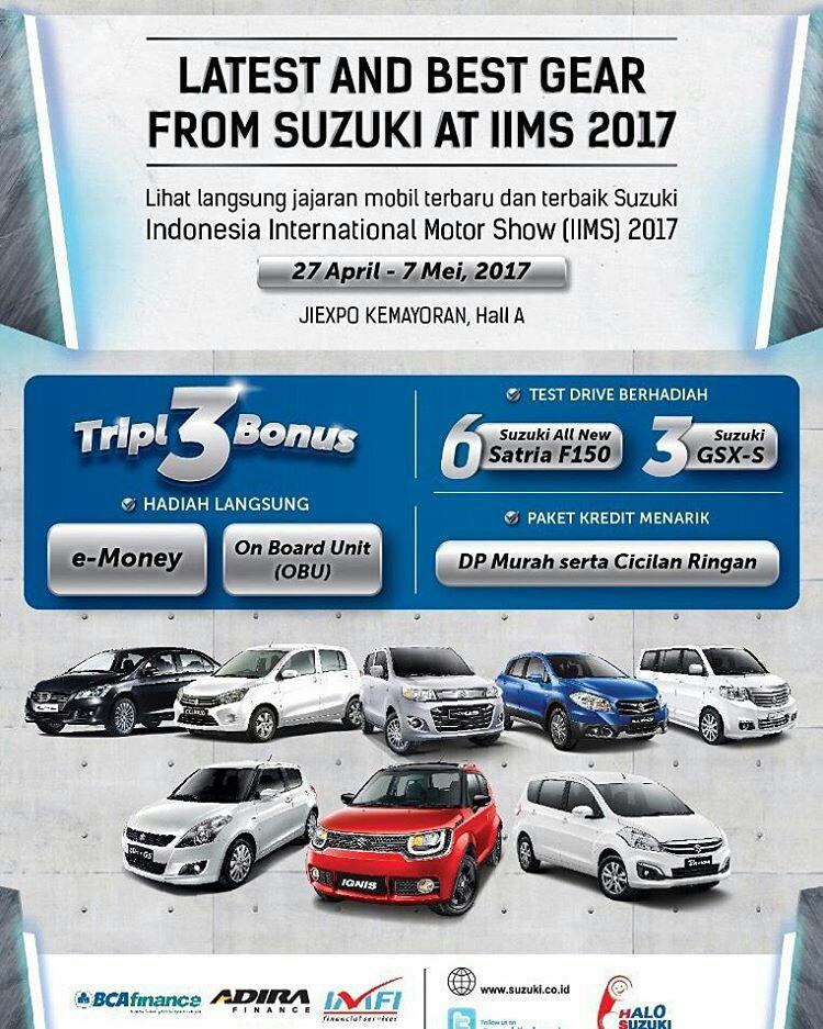 BTYDgnohmFR - Promo Suzuki mobil di IIMS 2017