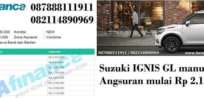 Suzuki IGNIS tipe GL manual kombinasi bca finance 1024x319 660x319 - Promo Suzuki IGNIS Angsuran 2 Juta an atau Dp Ringan