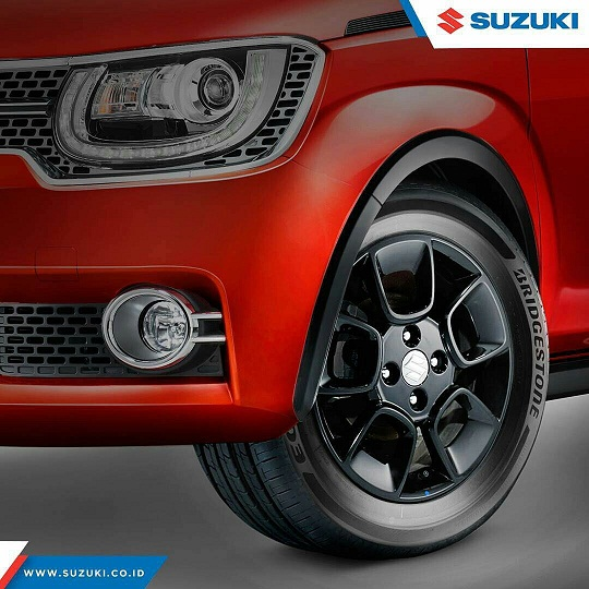 ground clearance dan ban suzuki ignis - Suzuki IGNIS launching tanggal 17 april 2017