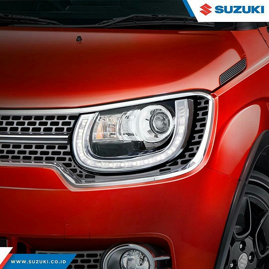 lampu suzuki ignis - Suzuki IGNIS launching tanggal 17 april 2017