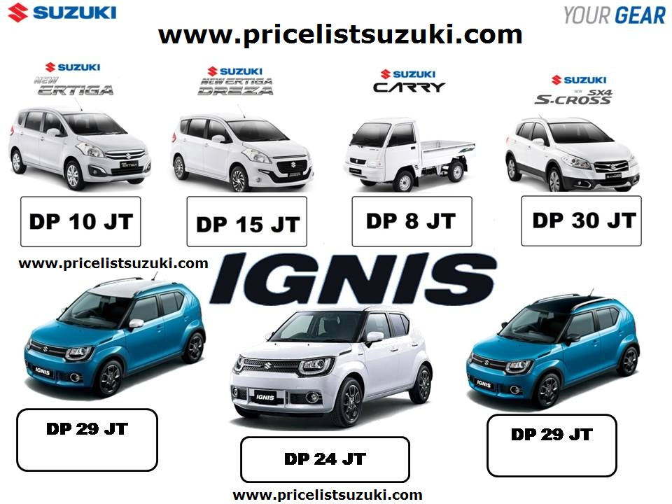 promo suzuki ignis dan ertiga scross - Suzuki IGNIS launching tanggal 17 april 2017