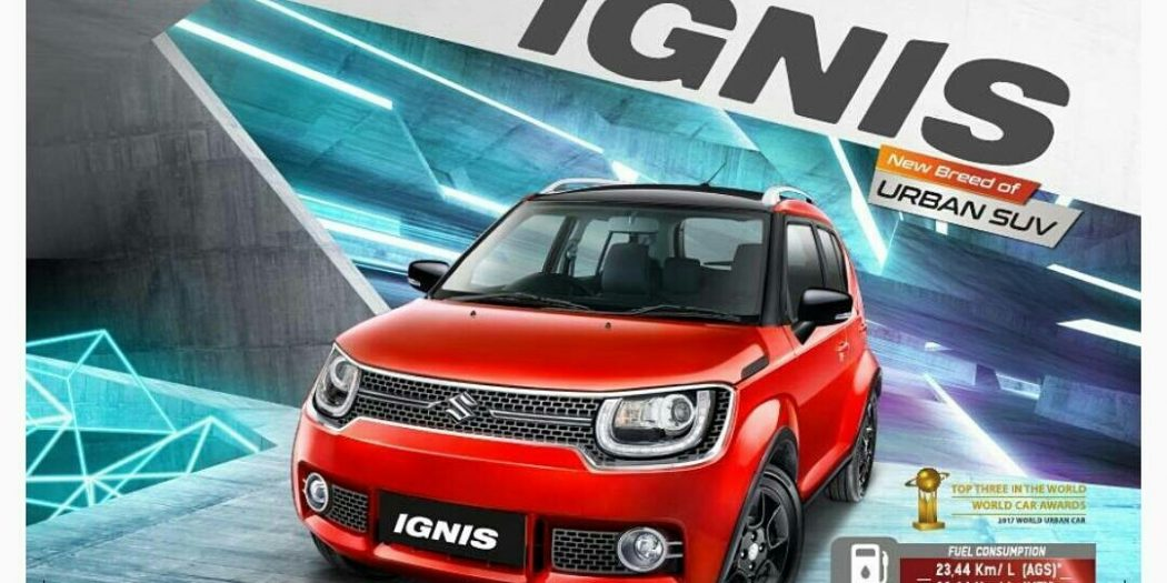 suzuki ignis urban suv 1050x525 - Suzuki IGNIS launching tanggal 17 april 2017