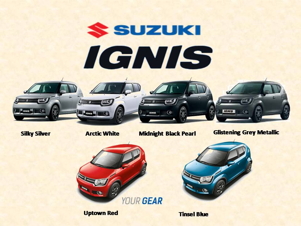 warna suzuki ignis gl - Suzuki IGNIS launching tanggal 17 april 2017