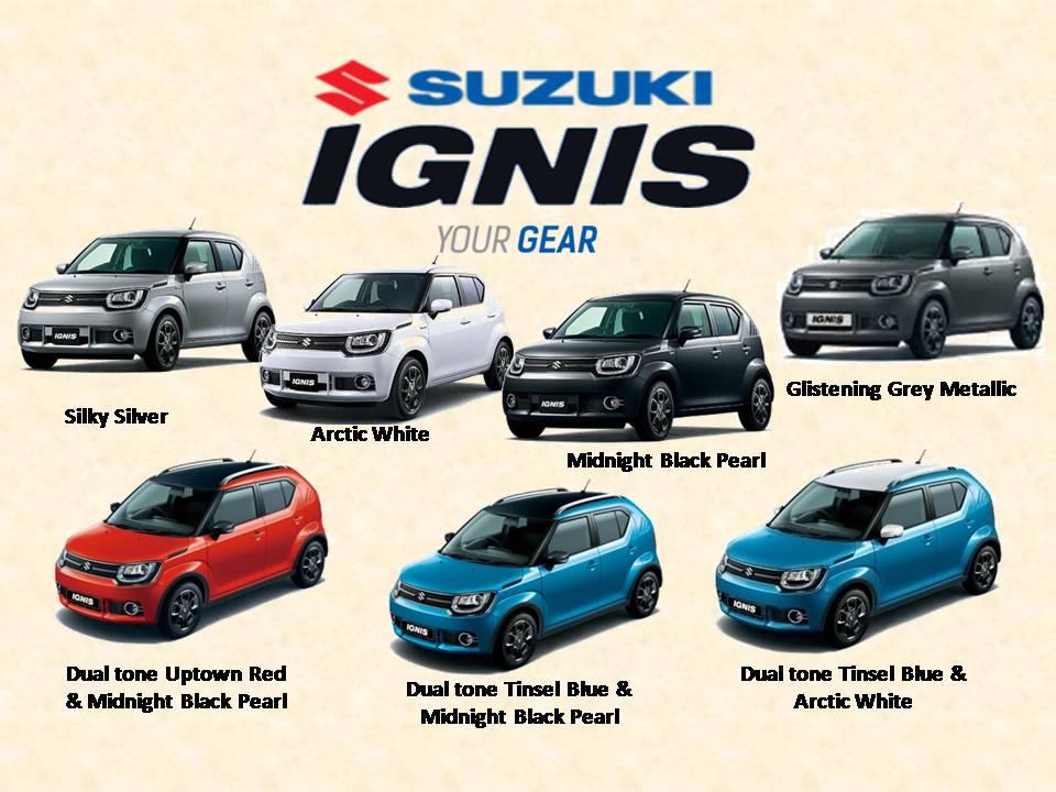 warna suzuki ignis tipe gx - Suzuki IGNIS launching tanggal 17 april 2017
