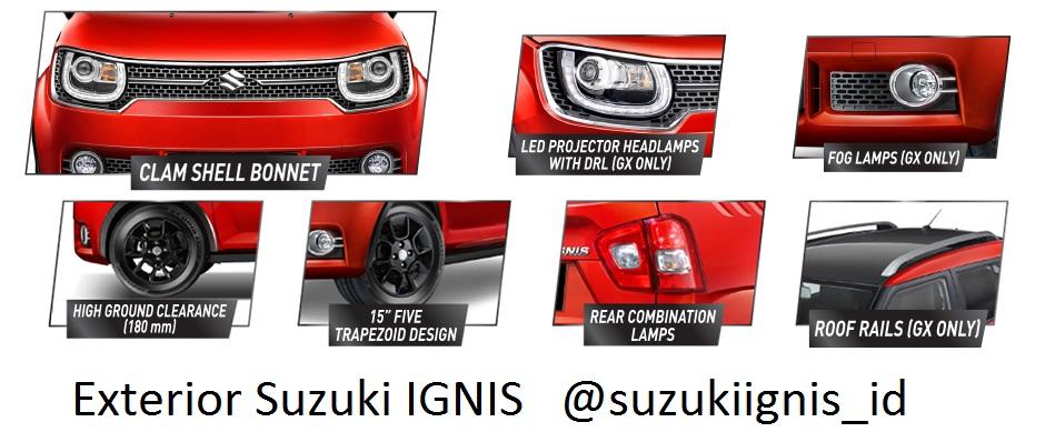 """exterior Suzuki IGNIS - Info Suzuki IGNIS """" The Urban SUV """" yang irit bensin"""