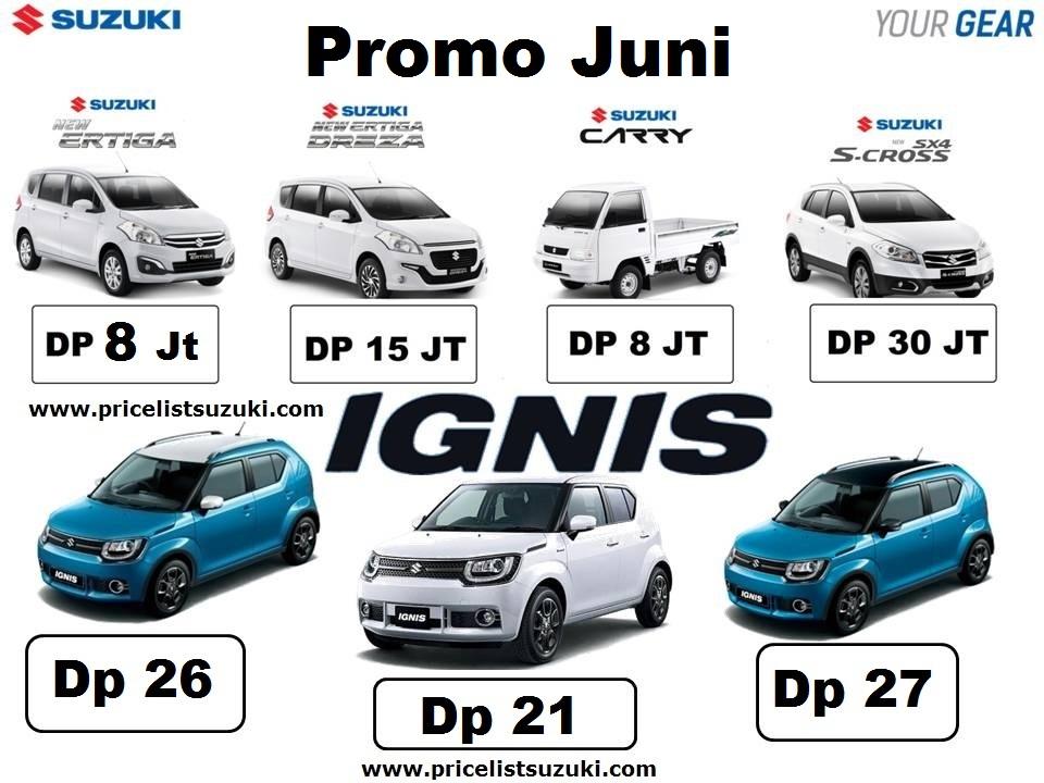 suzuki Promo Juni 2017 - Suzuki Promo PRJ ( Pekan Raya Jakarta ) 2017