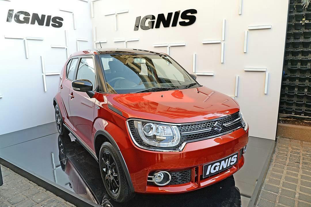 """suzuki ignis merah hitam - Info Suzuki IGNIS """" The Urban SUV """" yang irit bensin"""