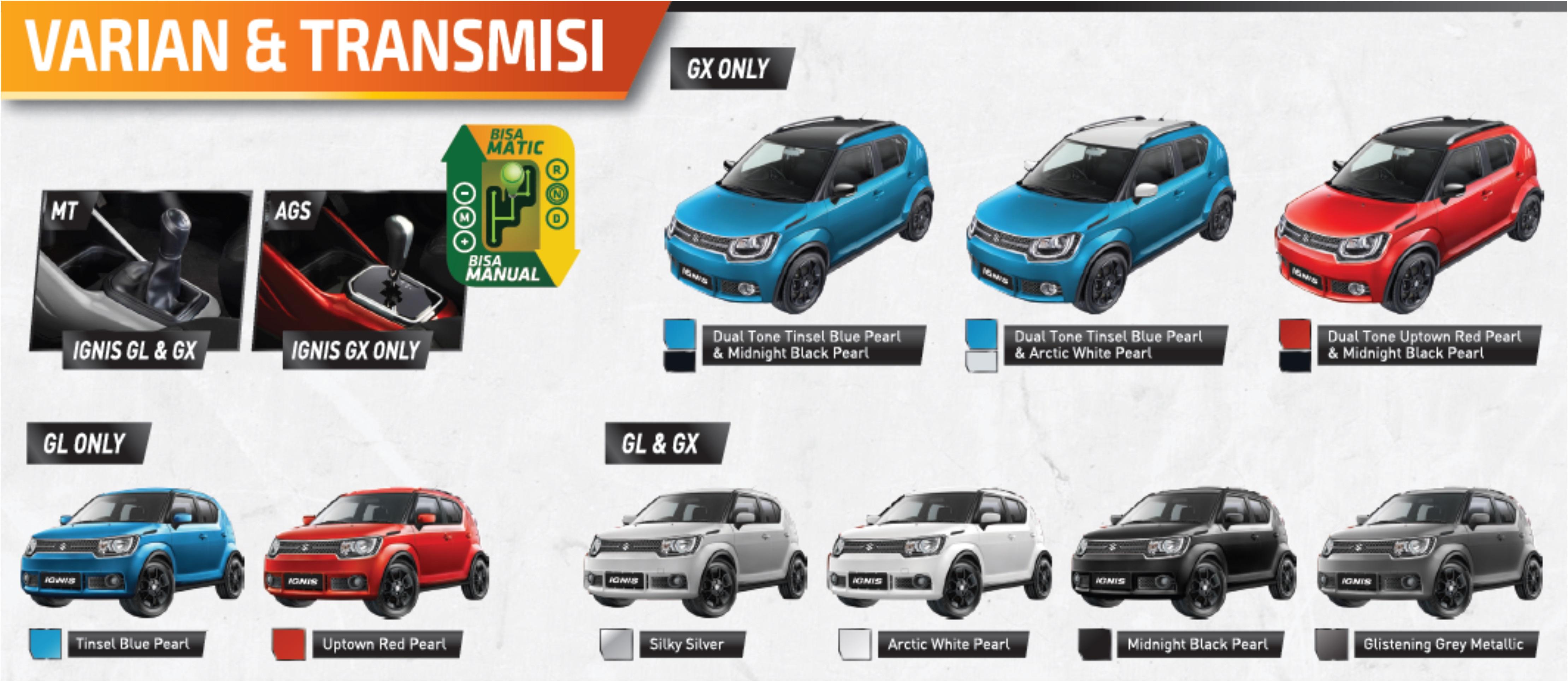 """warna suzuki ignis - Info Suzuki IGNIS """" The Urban SUV """" yang irit bensin"""