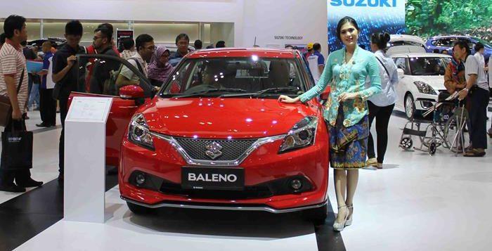 BALENO MERAH - Pricelist Suzuki Baleno harga spesial terbatas
