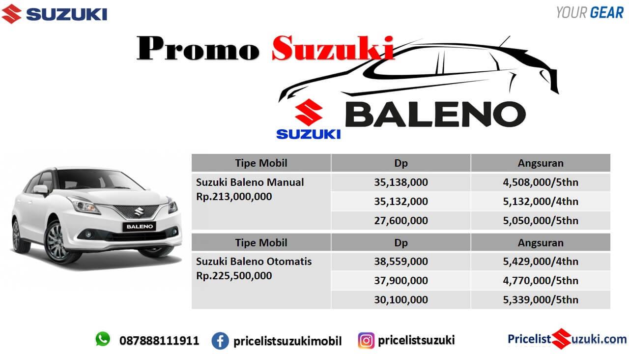 Kredit Suzuki Baleno Harga Baleno Murah 2019 - Promo mobil Suzuki Baleno Dp ringan