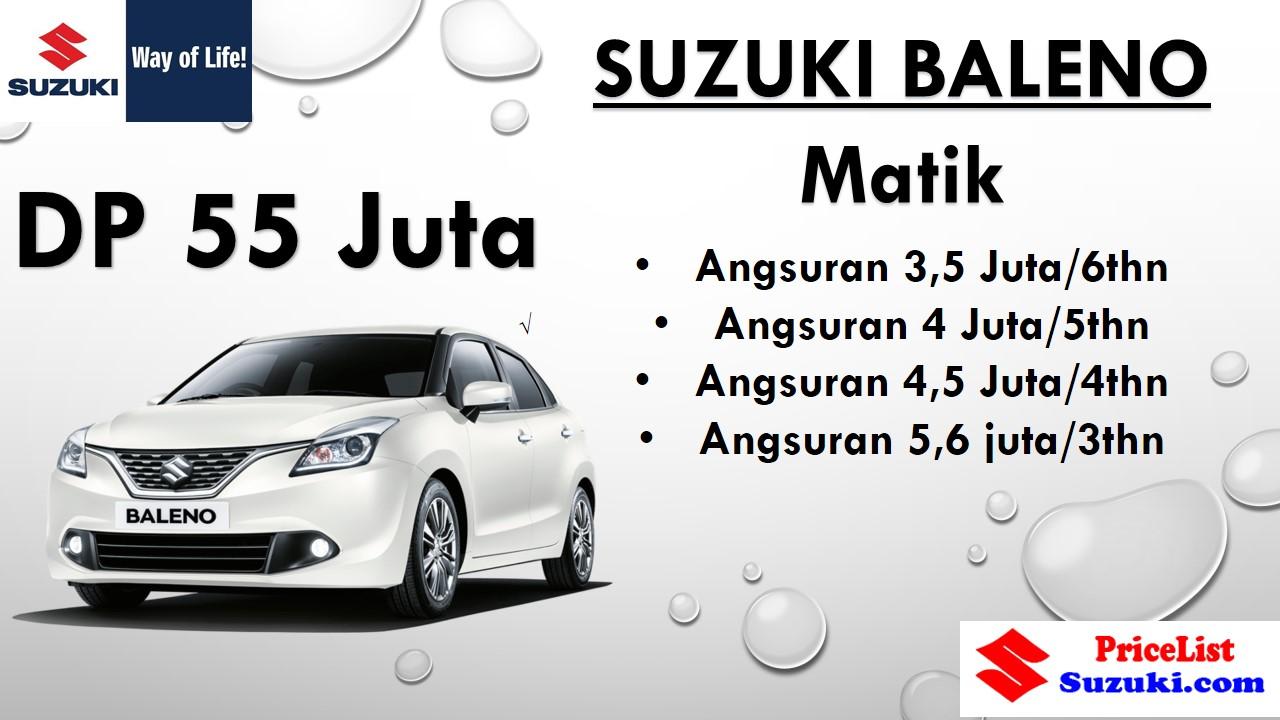 Paket Kredit Suzuki Baleno Matik angsuran ringan - Harga kredit Suzuki Promo