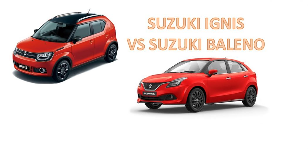 Perbandingan Suzuki Baleno dengan Suzuki IGNIS 1050x525 - Perbandingan Suzuki Baleno dengan Suzuki IGNIS