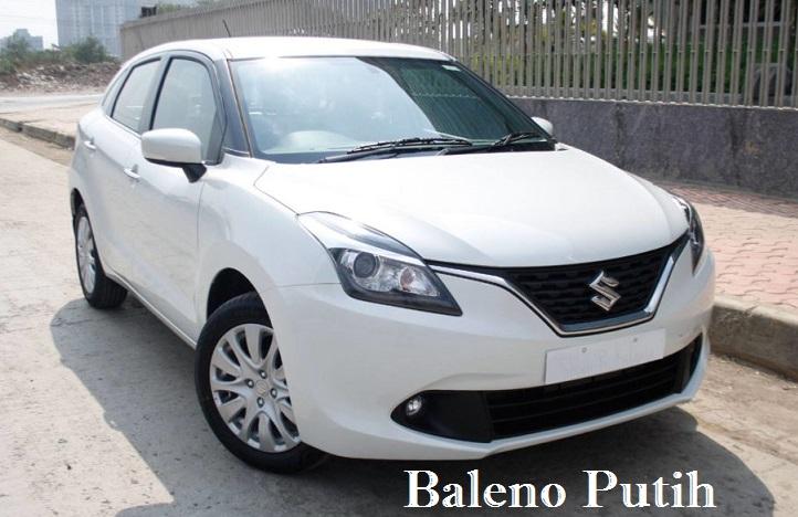 baleno putih - Pricelist Suzuki Baleno harga spesial terbatas