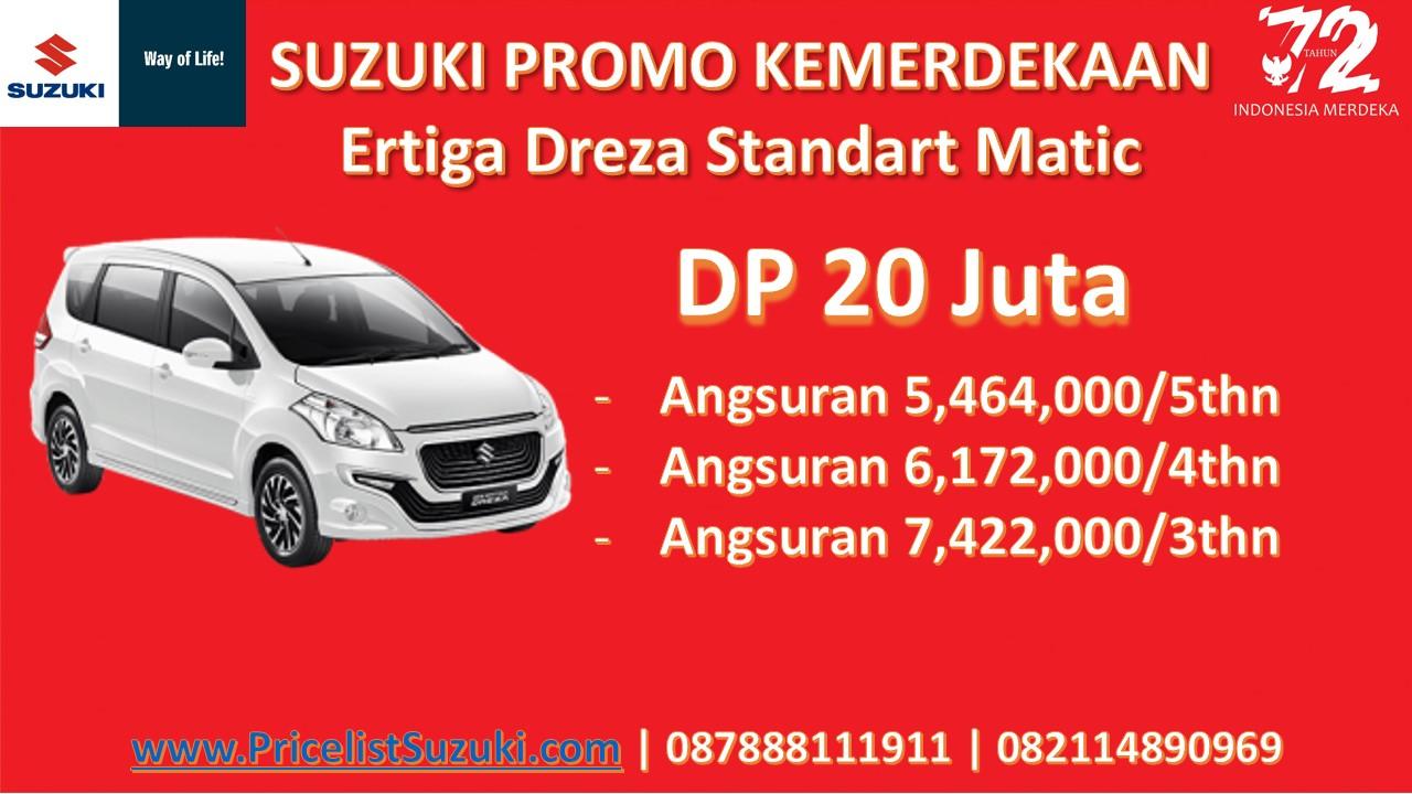 Suzuki Promo Kemerdekaan Dreza standart Matic - Suzuki Promo Kemerdekaan Dp Ringan