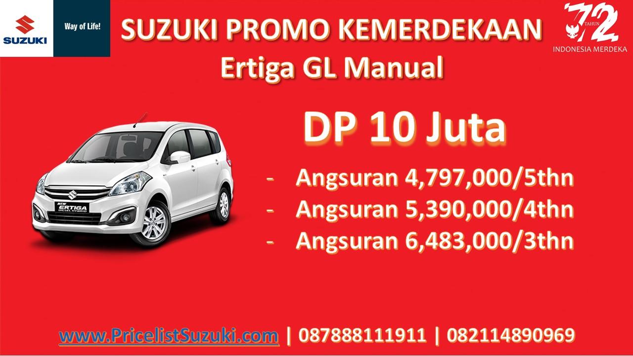 Suzuki Promo Kemerdekaan Ertiga GL Manual 1 - Suzuki Promo Kemerdekaan Dp Ringan