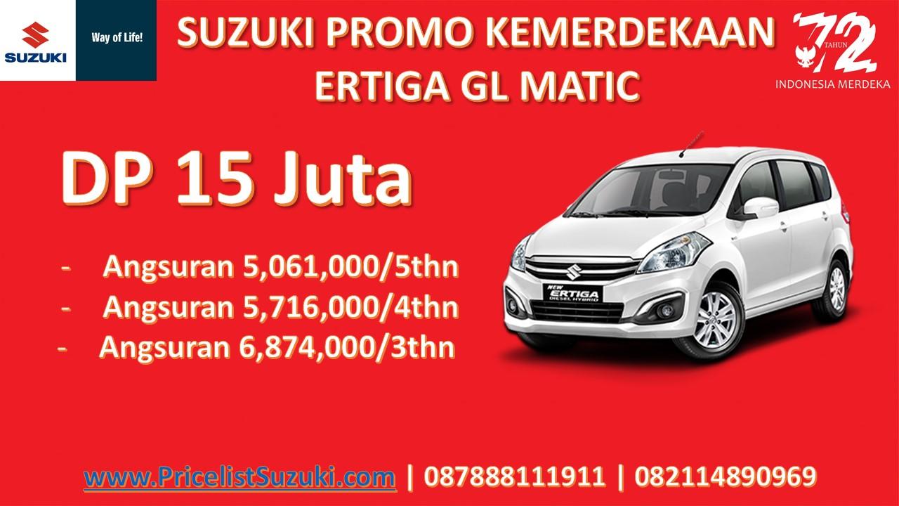 Suzuki Promo Kemerdekaan Ertiga GL Matic - Suzuki Promo Kemerdekaan Dp Ringan