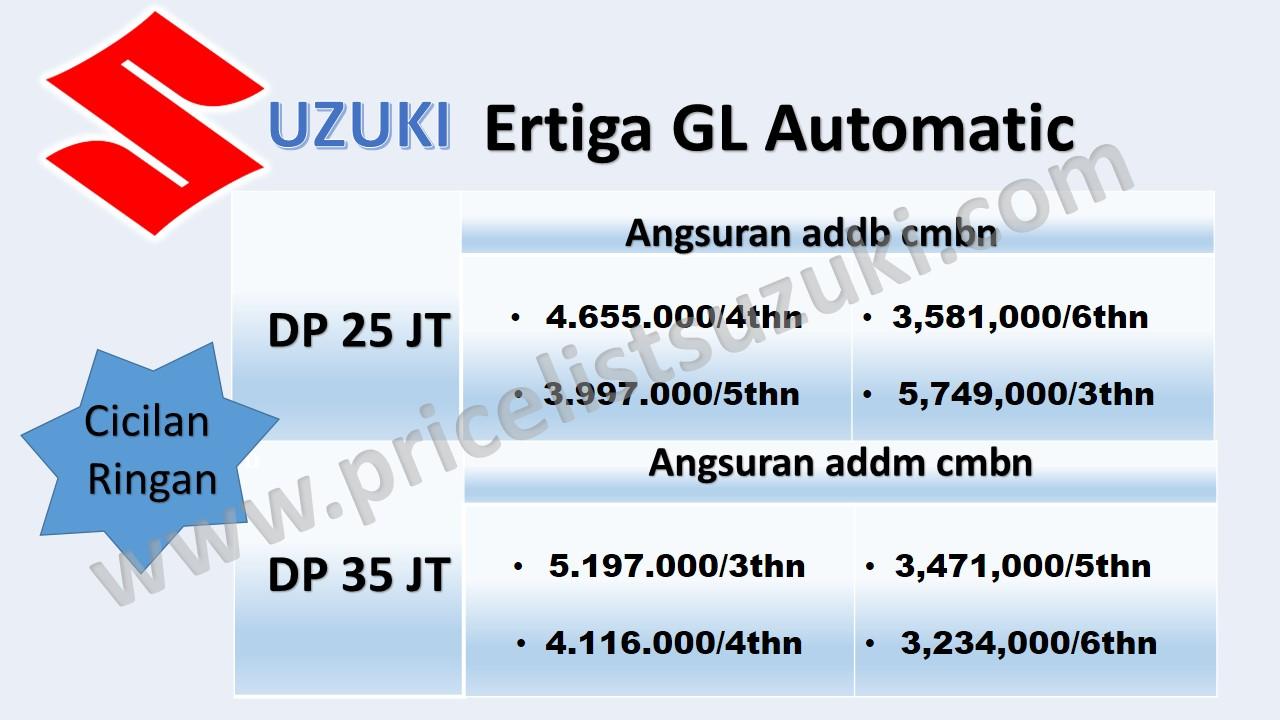 promo suzuki ertiga gl matik akhir tahun - Jual Suzuki Ertiga Dengan Harga Promo Terbaik