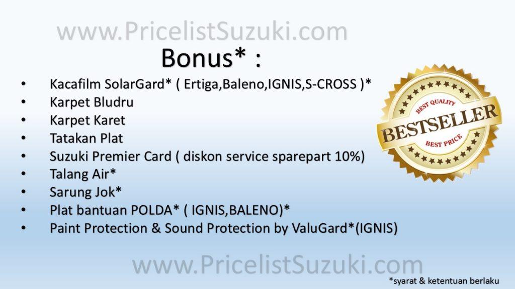 Best Seller Bonus Suzuki Mobil terbaik terbanyak  1024x576 - Promo Suzuki Di 2 Hari Terakhir PRJ - Super Murah Hanya Di Sini