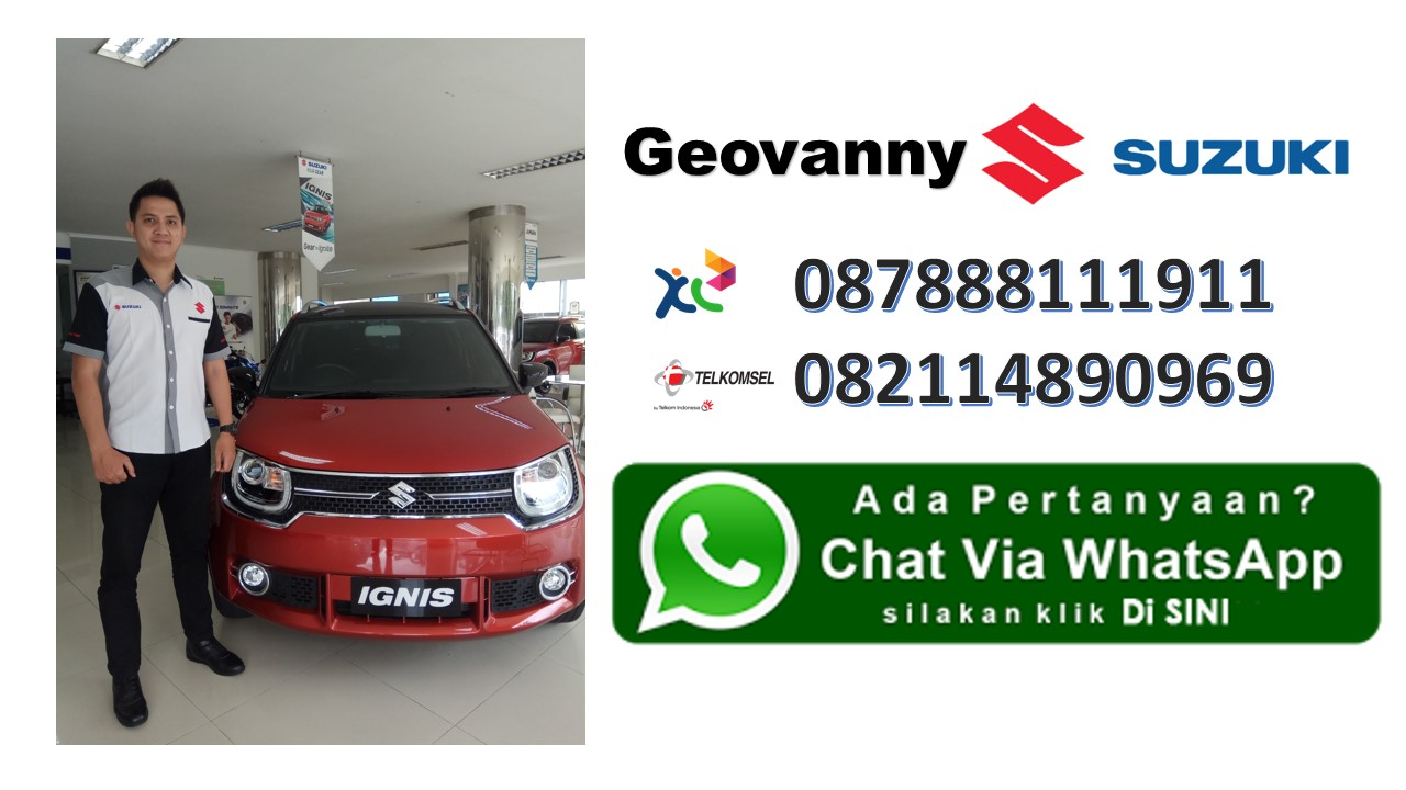 Geovanny Chat Di sini Sales Suzuki Mobil - Hubungi Marketing Suzuki