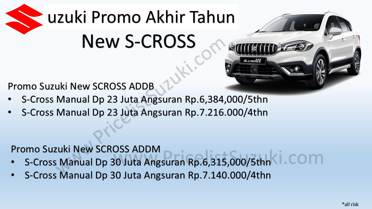 Promo Suzuki New Scross manual Sufi - Harga Kredit Promo Suzuki S-Cross Indonesia