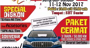 brosur showroom event 1 310x165 - Promo Suzuki Mobil Showroom Event