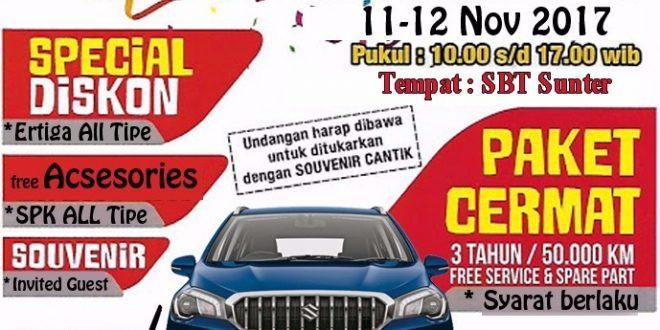 brosur showroom event 1 660x330 - Promo Suzuki Mobil Showroom Event
