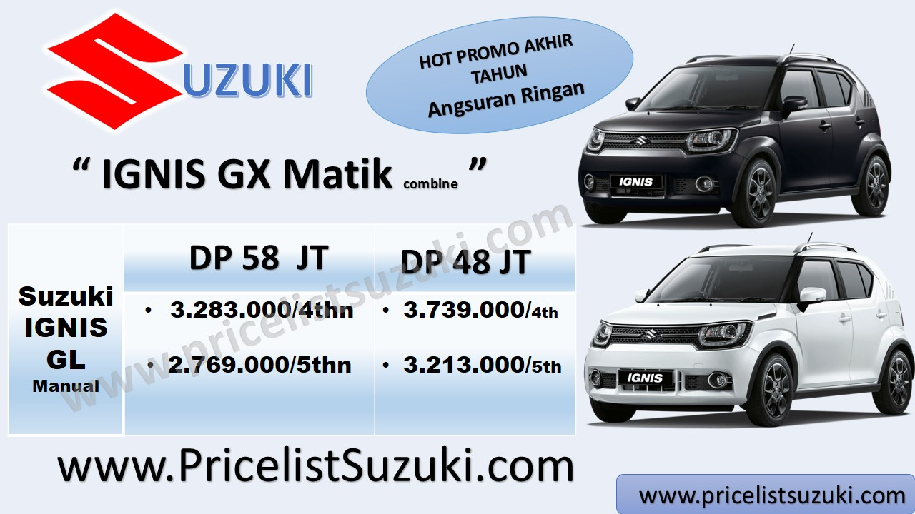 promo mobil suzuki ignis gx matik ags cicilan bunga ringan - Kredit mobil Suzuki IGNIS sampai 5 tahun