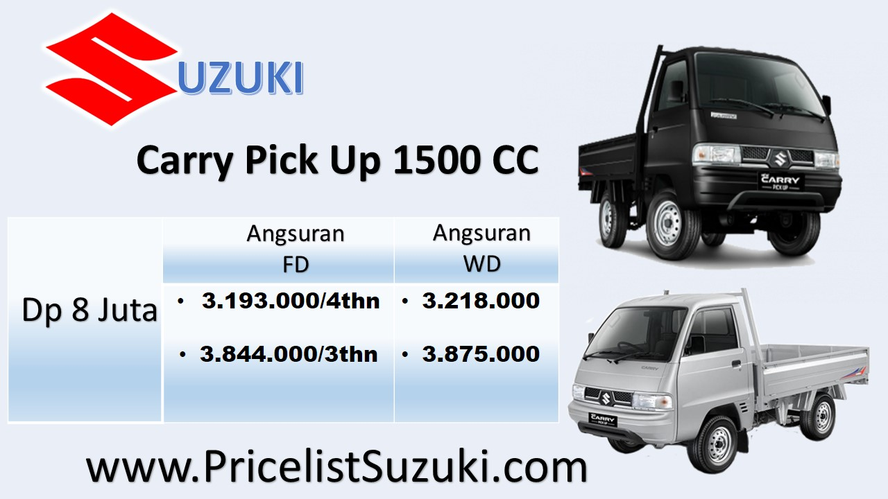 promo pick up dp murah 8 juta - Pick Up Suzuki Carry Dp 8 Juta