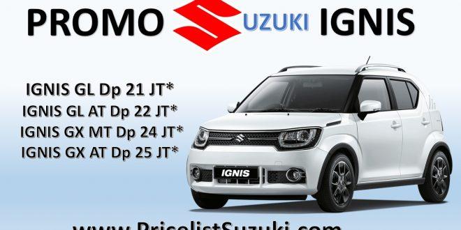 promo suzuki ignis pricelist 660x330 - Kredit mobil Suzuki IGNIS sampai 5 tahun