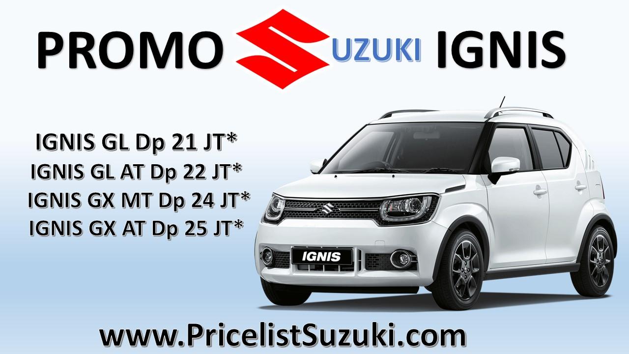 promo suzuki ignis pricelist - Kredit mobil Suzuki IGNIS sampai 5 tahun