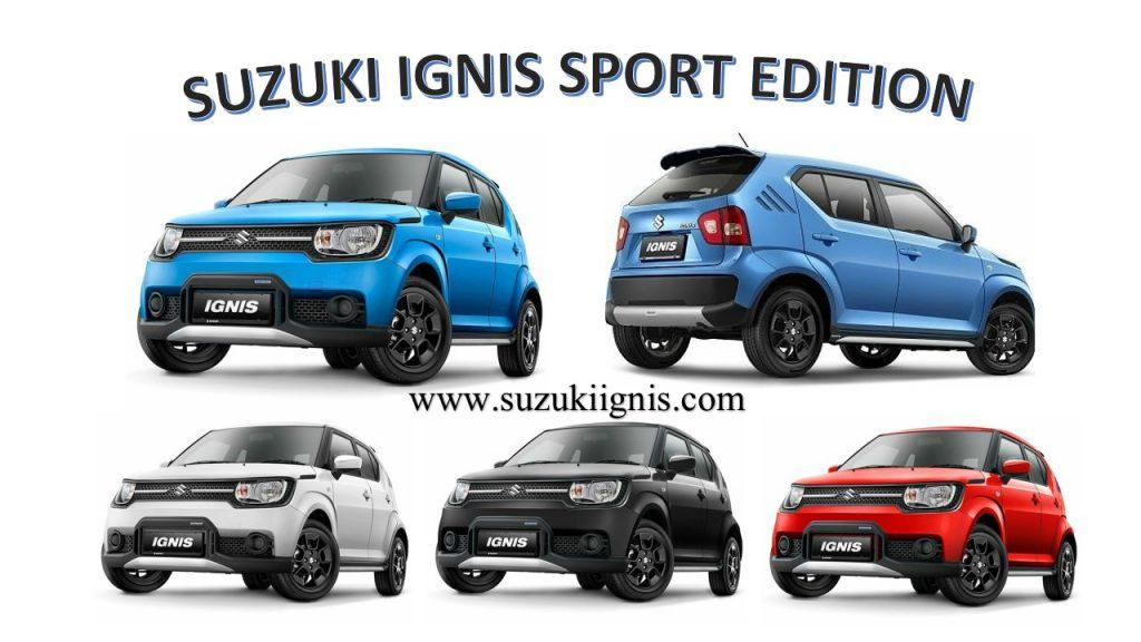 Suzuki iGnis Sport Edition all colour 087888111911 1 1024x576 - Pricelist Suzuki Mobil Febuari 2018
